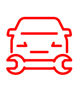 car and tool icon