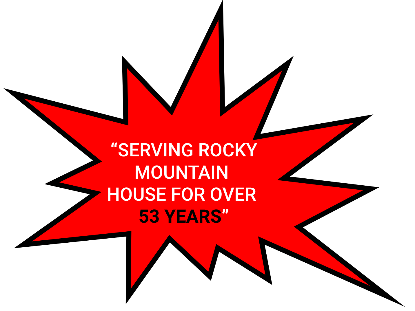 serving rocky mountain house for over 53 years